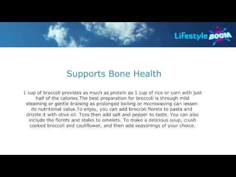 Benefits of Broccoli - Call 1300 133 351