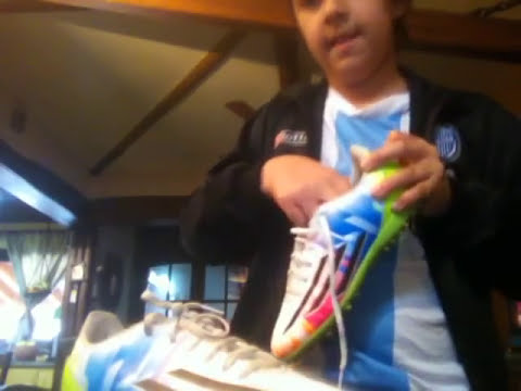 Unboxin Botines Adidas Messi F5 TRX TF JUNIOR