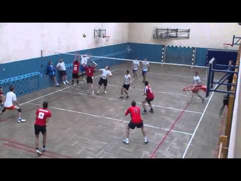 Bakcyl Bielany - UR GeoVolley Team (2:0) - Cały Mecz