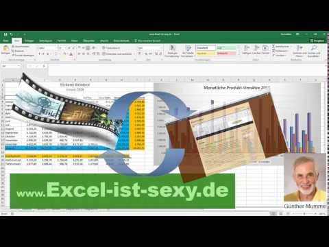 Quickie: Dateien eines Verzeichnisses nach Excel