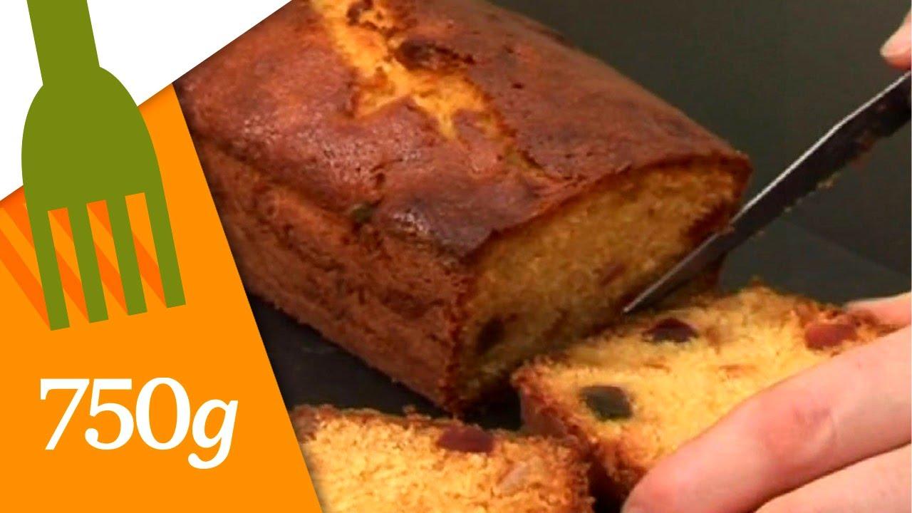 recette de cake aux fruits 750 grammes