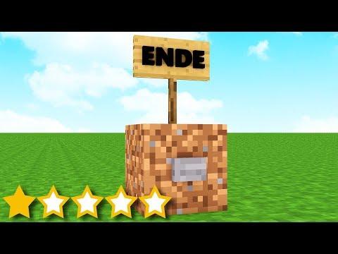ich spiele die SCHLECHTESTE Minecraft MAP