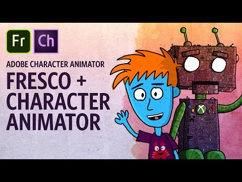 Adobe Fresco + Character Animator Workflow (Adobe Character Animator Tutorial)