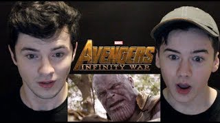 Avengers: Infinity War Official Trailer | OUR REACTION