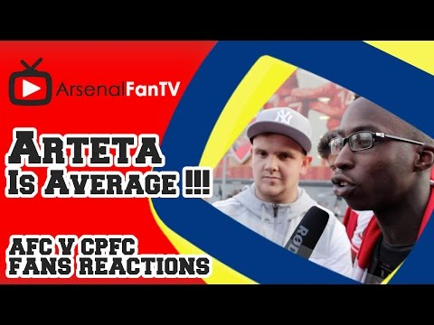 Arteta Is Average !!! - Arsenal 2 Crystal Palace 1