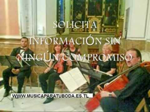 Benasau Alicante musica ceremonias boda violines organo soprano