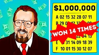 14-Times Lottery Winner Reveals His Secret to the World