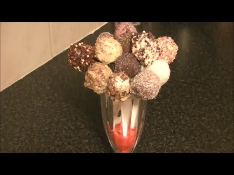 CAKE POPS *COOK WITH FAIZA*