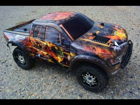 RC ADVENTURES - FORD SVT RAPTOR TRAXXAS SLASH 4X4 ULTiMATE TRUCK
