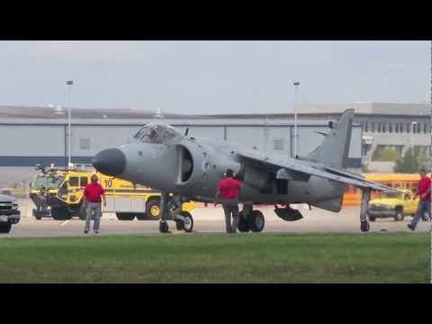 Nalls Aviation Sea Harrier FA.2 - Wings Over Pittsburgh 2011
