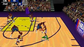 NBA Fastbreak 98-Los Angeles Lakers vs Minnesota Timberwolves