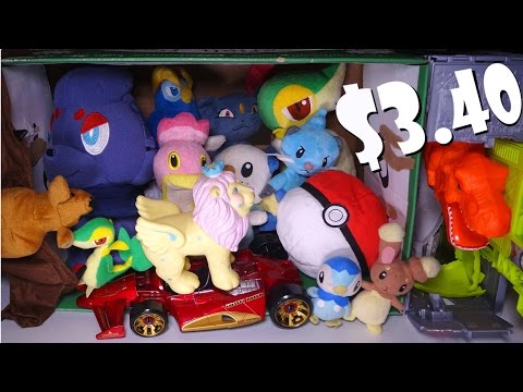 CHEAP Thrift Store finds! Lots of 10 cent POKEMON. and more