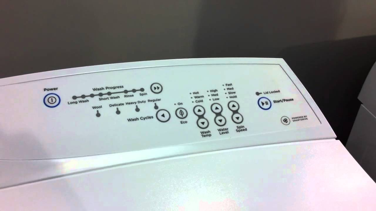 Fisher Amp Paykel 5 5kg Washing Machine Mw513 Youtube