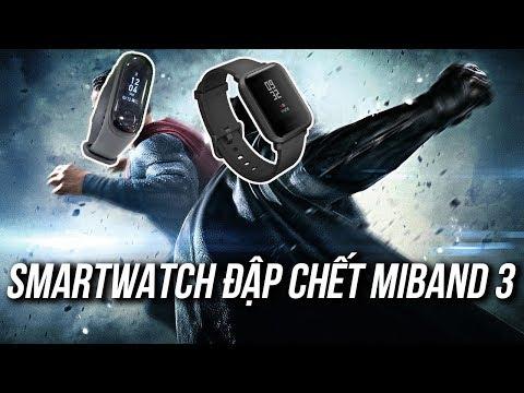 Đây là chiếc Smartwatch sẽ đập chết Miband 3 !!!