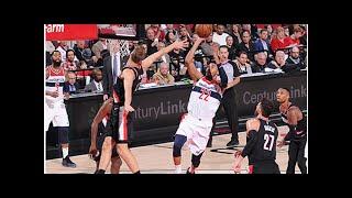 NBA Ergebnisse: Wizards gewinnen OT-Krimi gegen Portland - Stephen Curry ist on fire!