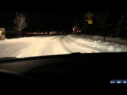 Tesla Model S P85D Snow Performance