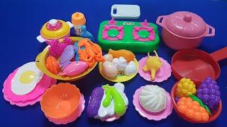 Bộ đồ chơi làm bếp chị Bé nấu lẩu hải sản