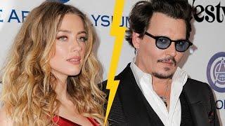 Johnny Depp and Amber Heard DIVORCED   Hollywood High