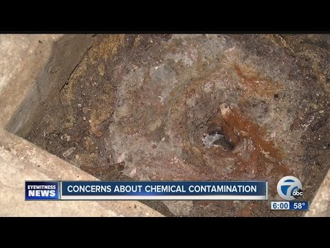 What is leaking into homes in neighborhoods around the Love Canal?