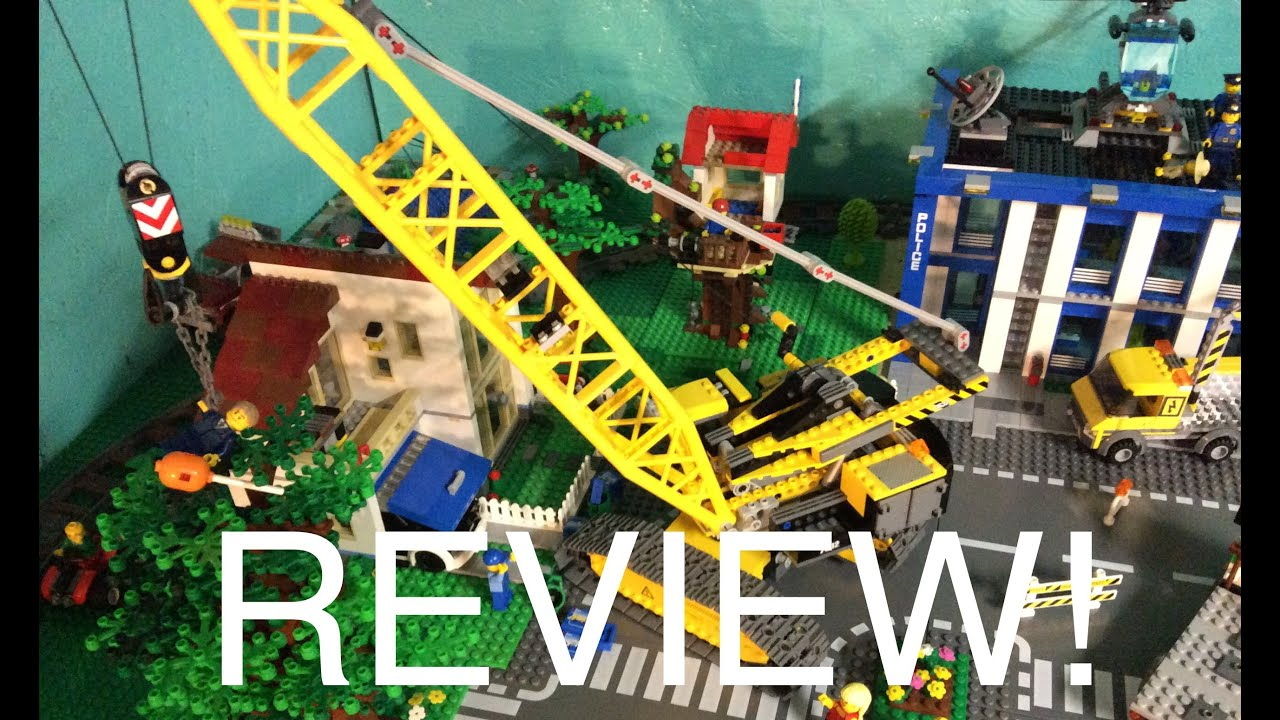 Lego City Mobile Crane Lego City Crawler Crane 7632