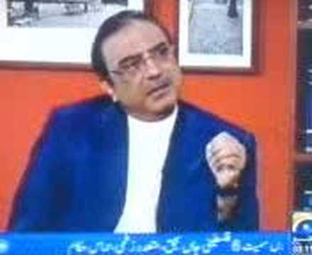 Asif Ali Zardari criticised Judiciary & Corrupt Judges Part1