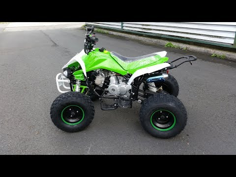 QUAD ATV 125cc Speedy 3G8 REVIEW!!! Nitro Motors