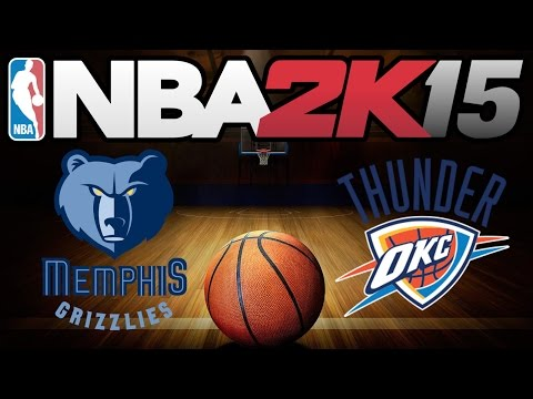 Memphis Grizzlies vs Oklahoma City Thunder | 2015.04.04 | NBA 2K15 Gameplay