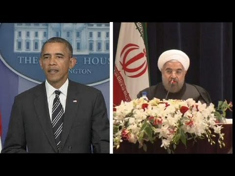 Obama and Iran's Rohani hold first nuclear talks - by telephone