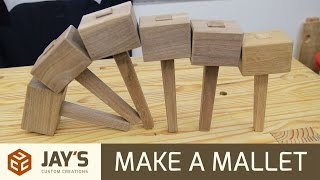 Two Ways To Make A Mallet - 238
