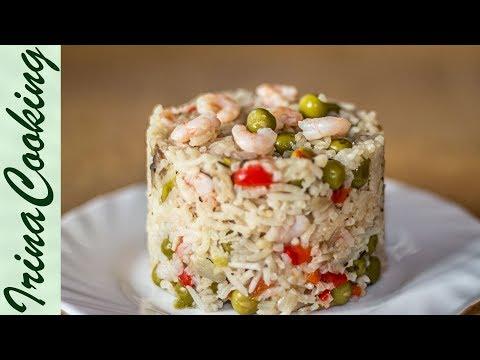 Как вкусно приготовить рис на гарнир - видео