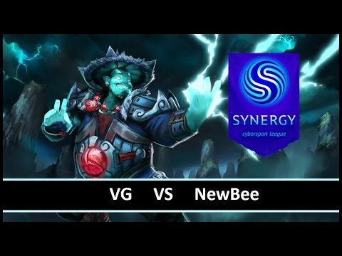 [ Dota2 ] VG vs NewBee - Synergy League - Thai Caster