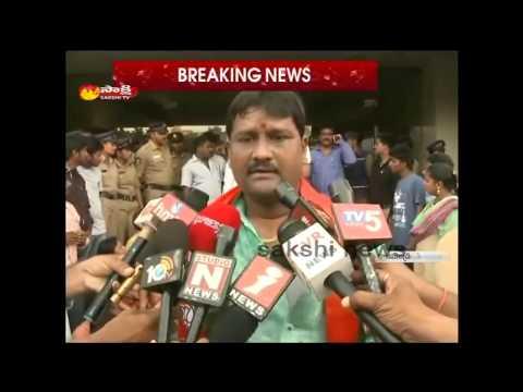 BJP Activists Warn to shivaji Raja