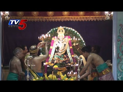 'Kanipaka Varasiddhi Vinayaka Brahmotsavalu' Begins Today : TV5 News