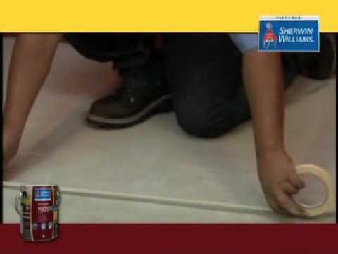 Pintura para pisos base agua sherwin williams youtube - Pintura para mosaicos piso ...