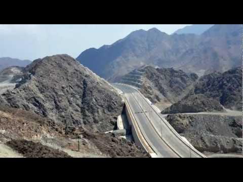 dubai fujairah freeway.wmv