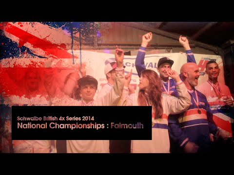 Schwalbe British 4x Series 2014 - National Championships, Falmouth