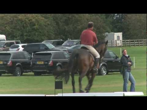 The Land Rover Burghley Horse Trials 2011 Build Up