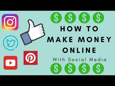 How To Make Money Online With Social Media