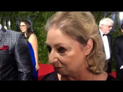 RAW VIDEO: Hilary Mantel at the Tony Awards