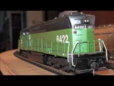 HO Brass Diesel-Electric Locomotive Burlington Northern SD-45 Fujiyama Japan BN