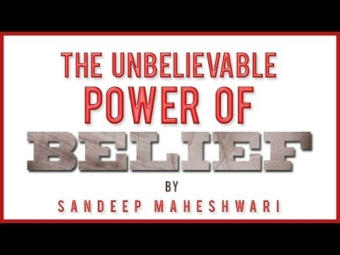Promo Of The Unbelievable Power Of Belief By Sandeep Maheshwari video