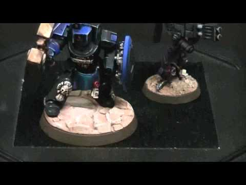Closer Look- Tau-minator for Warhammer 40K Space Marines