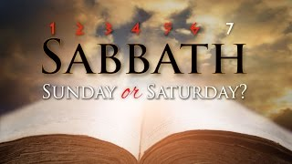 Video: Sabbath: Was it Saturday or Sunday? - Yahweh Ministry