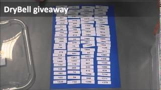 DryBell Giveaway Winner Announcement, April 15th 2015