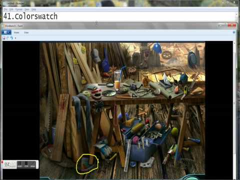 Criminal Case # 7 WorkBench (All Items)