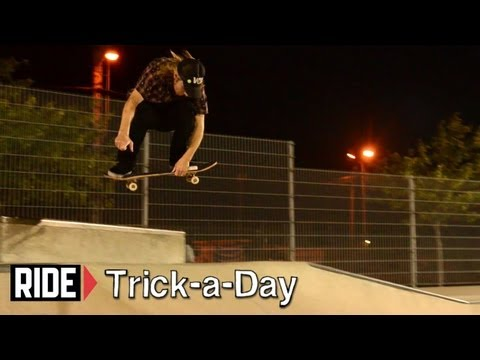 How-To Skateboarding: Early Grab Ollie With Fritz Mead