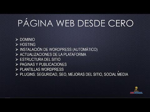 PAGINA WEB DESDE CERO EDICION 2014 PARTE 1