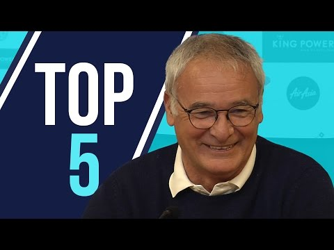 Top 5 | Claudio Ranieri Moments 2015/16