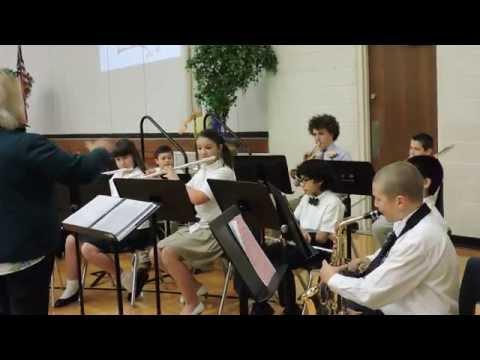Trinity Oaks Christian Academy Band - 10/19/2014