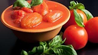Помидоры в томатном соке домашний рецепт